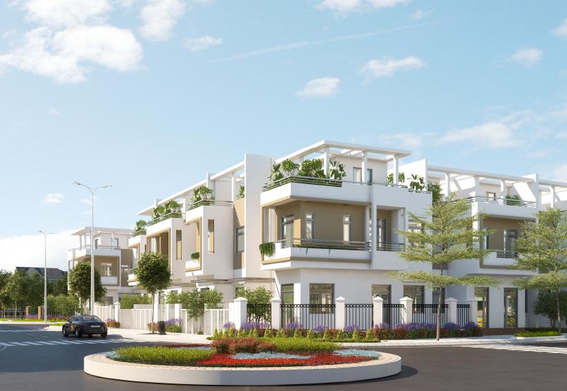 Diện tích nhà phố đa dạng đáp ứng nhu cầu đầu tư kinh doanh hay để ở của khách hàng.